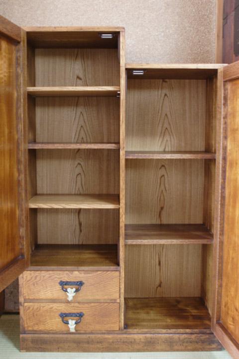 お父様の書棚 修理後 棚を追加しました