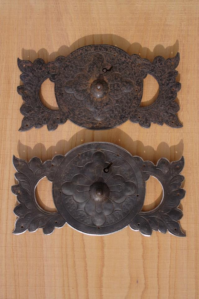 仙台箪笥の金具