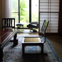 畳の部屋で椅子生活