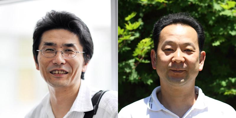 (左)木仙人 保田悦男 / (右)日下部箪笥 日下部 亨